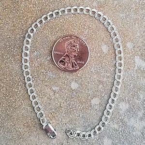 Sterling Silver Link Bracelet - NEW